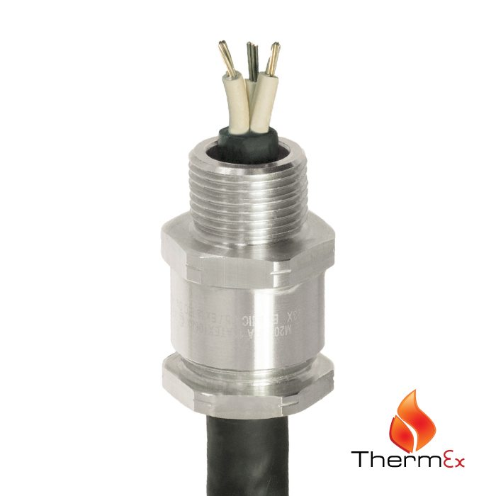 A2ht High Temperature Industrial Cable Gland Cmp