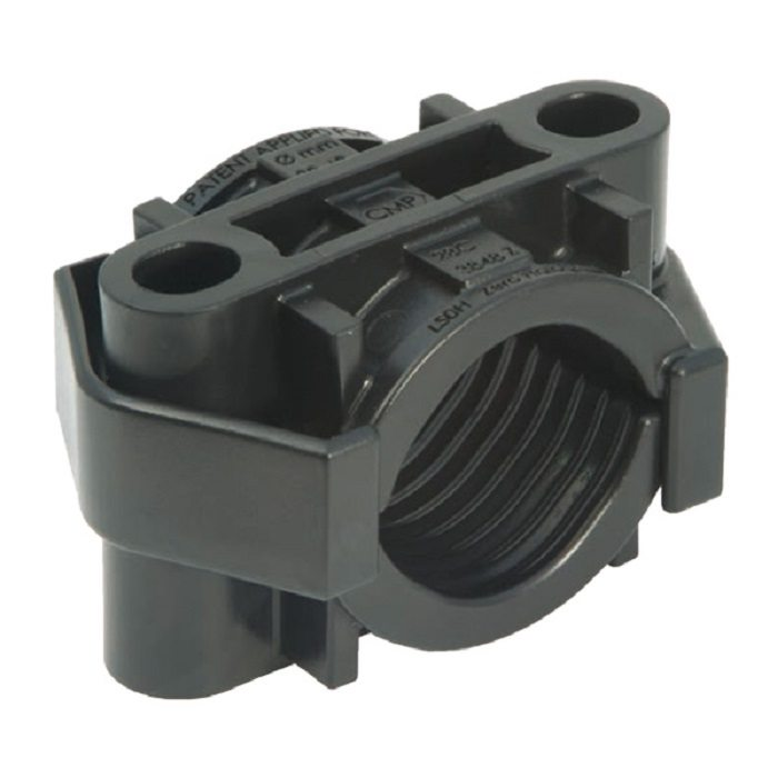 Falcon Single Two Bolt Plastic Cable Cleat Cmp