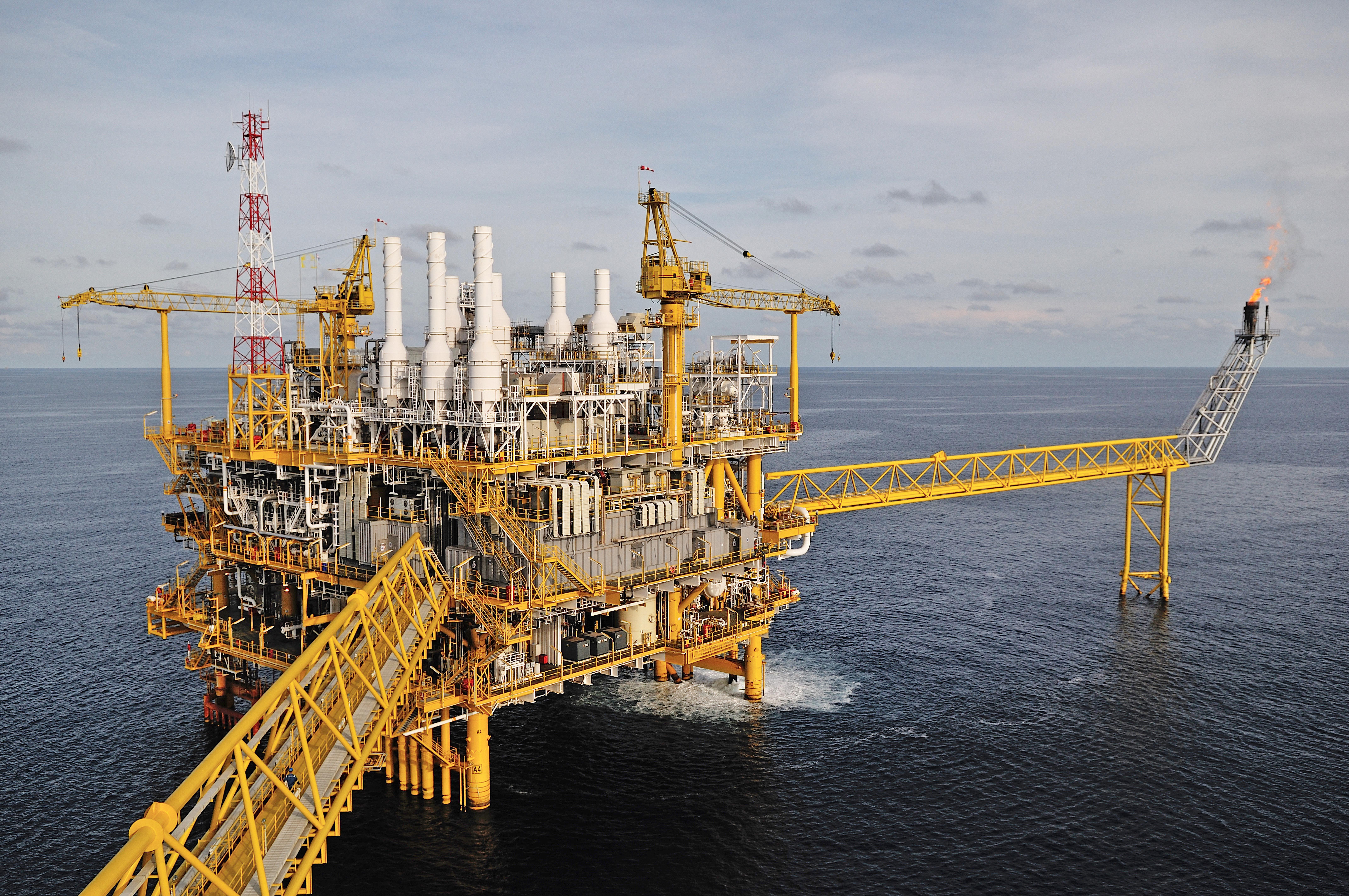 Oil and Gas Platform Image